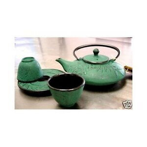 Japanese cast iron tea pot ebay Green tea pot set