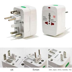 Universal AC Power Plug Adapter [For EU AU UK US]