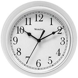 Salton 46994 Westclox Simplicity Wall Clock, 1, White