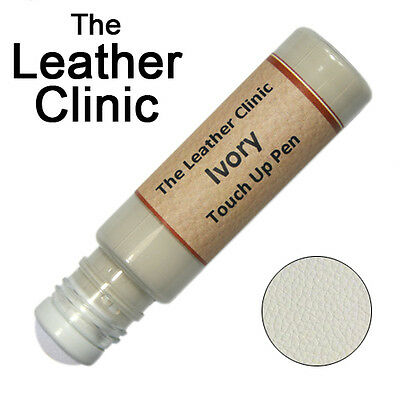 IVORY Leather Paint Touch Up for Sofa Car Shoes Handbag & -