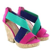 Cork Platform Wedges