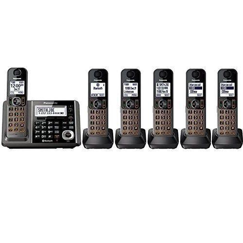 Panasonic KX-TGF346B Cordless Phone and Answering Machine