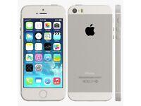 Apple iphone 5s white 16gb unlocked with apple warranty