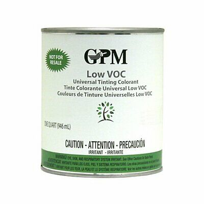 Gpm Fz Low Voc Universal Paint Tinting Colorant 1 Quart Red Iron Oxide