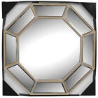 Octagon Wall-mounted Gold Home Décor Mirrors