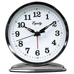 Alarm Clock Wind Up Loud Bell Analog Display Bedroom Dining Kitchen Bathroom New