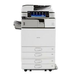 $55onth New REPOSSESSED Ricoh MP 3554 Black and White Laser Multifunction Printer Copier Scanner 11x17 Ontario Preview