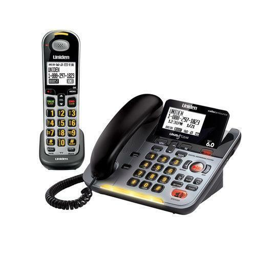 how to set up answering machine on uniden cordless phone