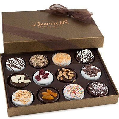 Mother's Day Gift Basket,Gourmet Chocolate, Cookies Day Box 12 Delicious Flavors Day Gourmet Cookie Gift Basket