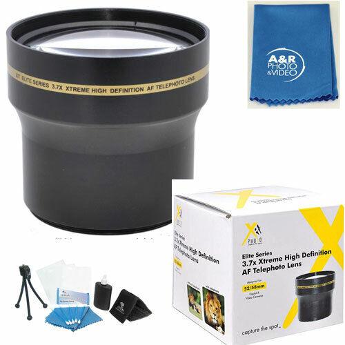 Professional 3.7X SUPER Telephoto HD Lens Kit + Adapter For Nikon P900 Camera