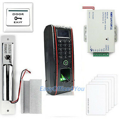 Ip65 Waterproof Fingerprint Access Control Packagebolt Lockpower Supply Unit