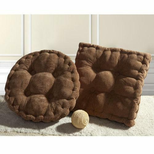 round chair cushions ebay. Black Bedroom Furniture Sets. Home Design Ideas