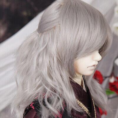 D60 Gray: 100g DM OOAK BJD rooting hair Heat and Flame Resistant Hair
