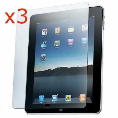 3 x CRYSTAL CLEAR SCREEN PROTECTOR GUARD FILM COVER FOR APPLE IPAD 2,3 & 4 (Ipad 4 Screen Protector)