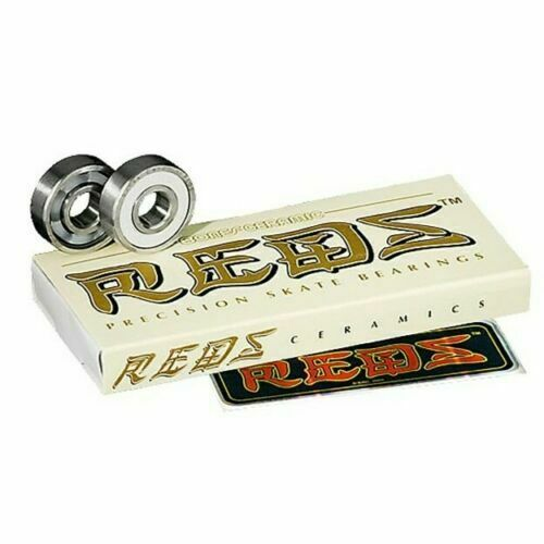 BONES Reds Ceramic Bearings 8 Pack - Fast shipping