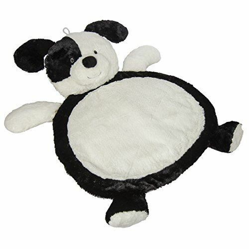 Mary Meyer Bestever Baby Mat, Black and White Puppy