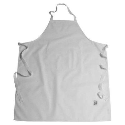 Chef Revival Bib Apron - Chef Revival 619BA-WH White Bib Apron with Two Pockets - 38
