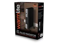 RRP £109.00 Oil Filled radiator 2500 watts Ex Demonstration with warranty