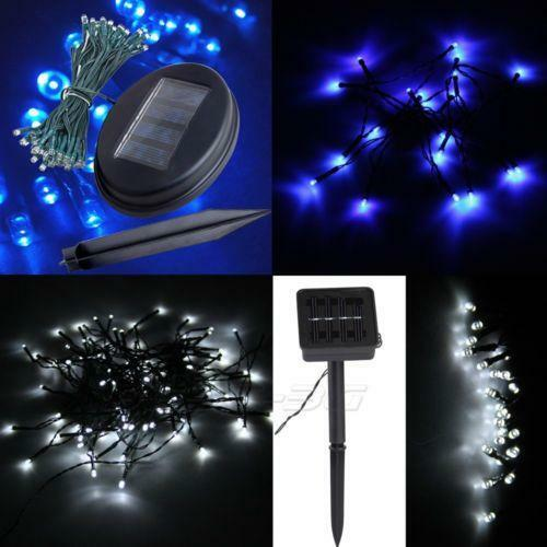 Outdoor Solar Christmas Lights Ebay