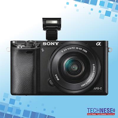 Sony Alpha A6000 Black Mirrorless Digital Camera Ilce-6000l+16-50mm Lens