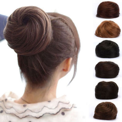 Chic buns are timeless