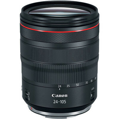 NEW Canon RF 24–105mm F4 L IS USM Camera Lens