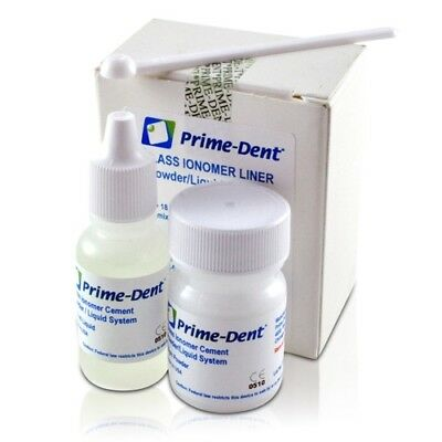 Prime-dent Permanent Glass Ionomer Liner Dental Luting Cement Fda