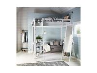 IKEA Double Loft Bed (black)