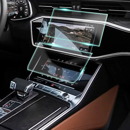 Crystal Clear Screen Protector for 2019 Audi Q8 Vehicle Navigation
