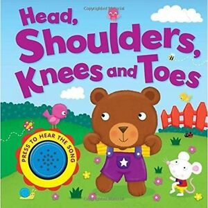 Head Shoulders Knees and Toes Song Sounds Board Book  Igloo Books Ltd Igloo - Thirsk, United Kingdom - Head Shoulders Knees and Toes Song Sounds Board Book  Igloo Books Ltd Igloo - Thirsk, United Kingdom