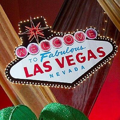 WELCOME TO LAS VEGAS SIGN  *  las vegas * casino * party decorations   - Las Vegas Decorations