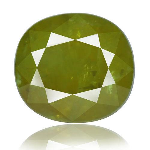 Tsavorite Family Garnet 14.24ct yellowish green color 100% natural earth mined