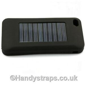 Iphone Sillicone Case Cover With Built In Solar Charger