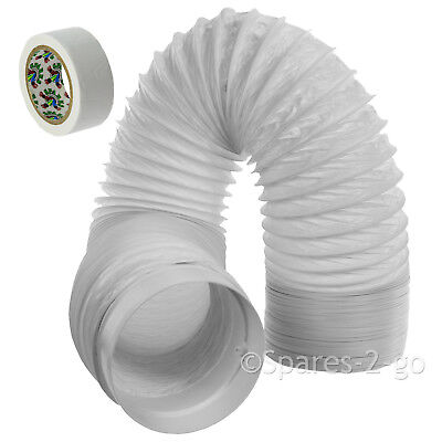 "6m Vent Hose PVC Duct 5"" Extension for Delonghi Air Conditioner Conditioning"
