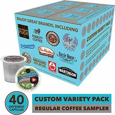 Flavored Coffee Variety Sampler Pack for Keurig K-Cup Brewers, 40 -