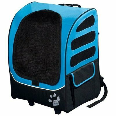 Pet Gear I-GO Plus (traveler) For Cats And Dogs-Ocean Blue PG1280OB New