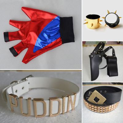 NEW Batman DC Comic Suicide Squad Harley Quinn Costume Cosplay Accessories Belt - Quinn Harley Costume