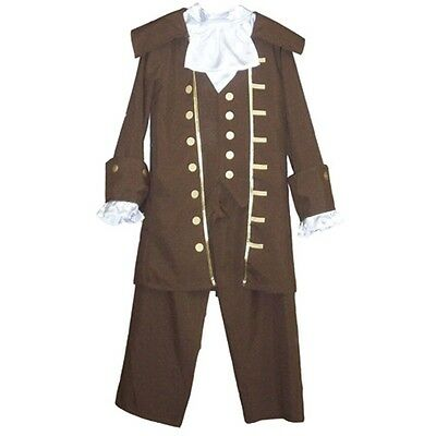 BEN FRANKLIN OUTFIT COSTUME LARGE (Ben Franklin Costume Kit)