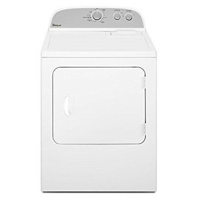 Whirlpool WED4815EW 7CF 14-Cycle Electric Dryer White