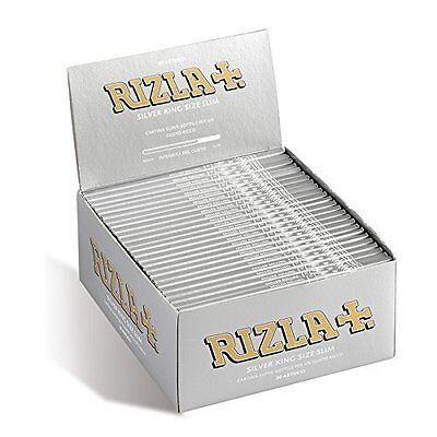 15x Rizla Silver King Size Rolling Papers Booklets **BEST