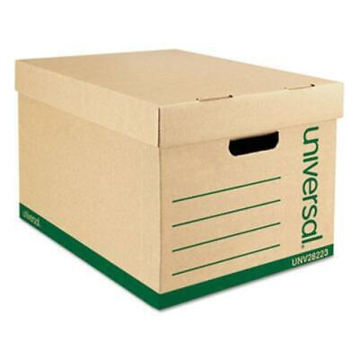 Universal Office Products UNV28223 Recycled Record Storage Box, Letter/legal, 12