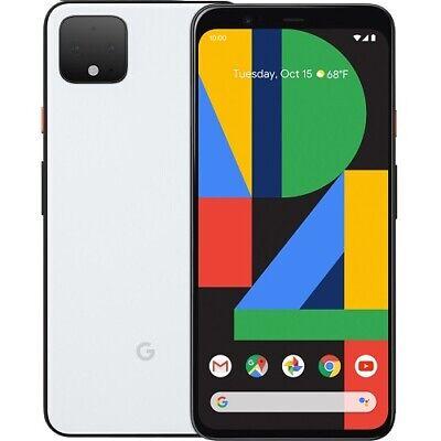 Google Pixel 4XL 64GB Unlocked Smartphone 6.3 QHD+ Display 6GB RAM Clearly White