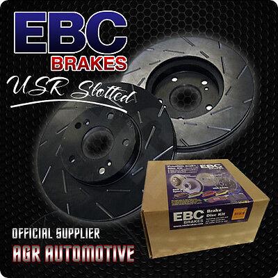 EBC USR SLOTTED FRONT DISCS USR1386 FOR AUDI Q3 1.4 TURBO 150 BHP 2014-