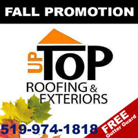 Free Roof Estimates - Free Gutter Guard w/ Roof Replacement