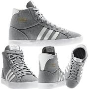 Adidas High Tops Size 4
