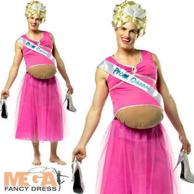 Halloween DRESS UP Rasta Imposta Pregnant Prom Queen, New PINK ONE SIZE S M L X - Pregnant Ladies Halloween Costumes