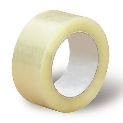 2x110 Yards330 Ft Clear Carton Sealing Packing Packaging Tape