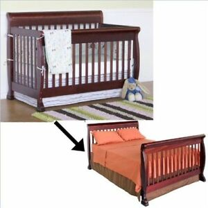 Conversion Kit for Baby Crib in white