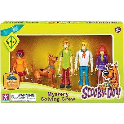 Kyпить Scooby Doo MYSTERY SOLVING CREW 5 Action Figures Shaggy Fred Velma Daphne на еВаy.соm
