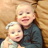 Nanny needed for two children, ages 2.5 and 6 months